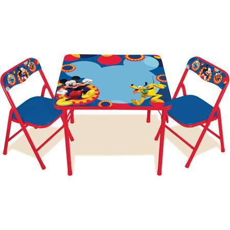 $27.98 Disney Mickey Mouse Clubhouse Capers Erasable Activity Table Set with 3 Markers