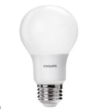 $4.97 Philips 60W Equivalent Soft White (2700K) A19 LED Light Bulb (2-Pack)