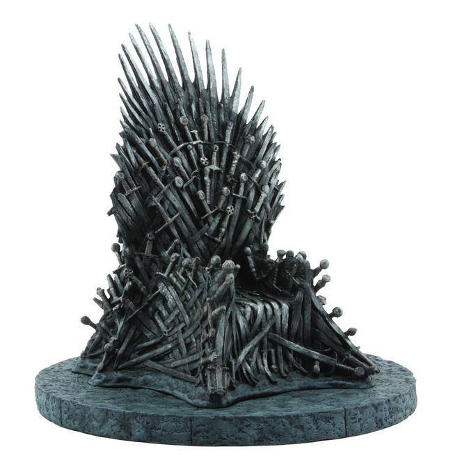 "$36.48 Game of Thrones: Iron Throne 7"" Replica"