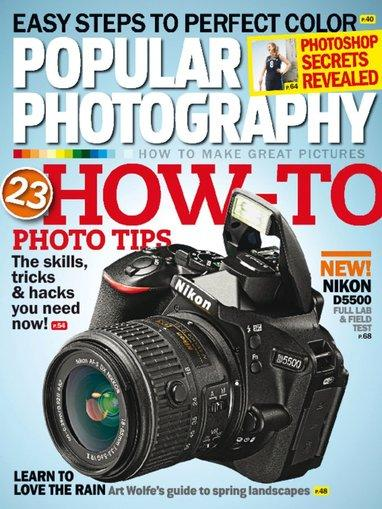 $4.99 Popular Photography Magazine 1 Year Subscription (12 issues)