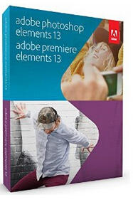 $67.99 Adobe Photoshop & Premiere Elements 13 (CD & Download Version)