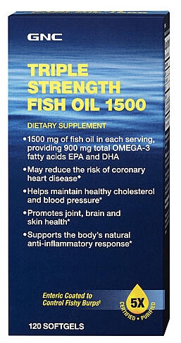 $19.99 Each Select Triple Strength Fish Oil Sale @ GNC