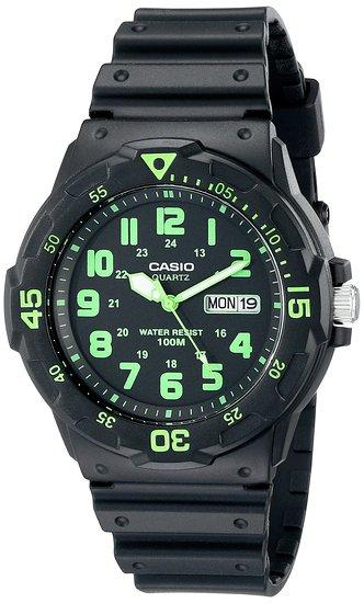 Casio Men's MRW200H Sport Watch with Black Band