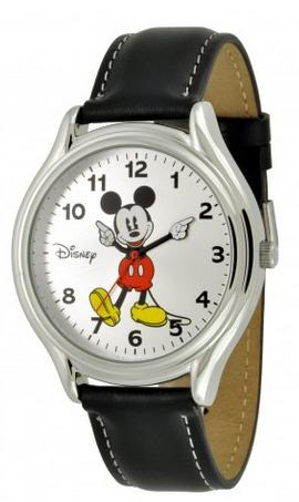 Disney Mens Mickey Mouse Analog Wrist Watch
