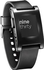 Pre-owned Pebble 301BL Smart Watch for Select Apple and Android Devices - Black