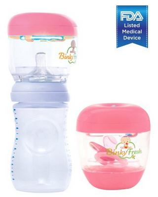 Lil' BabyG #1 Pacifier & Baby Bottle Nipple UV Sanitizer