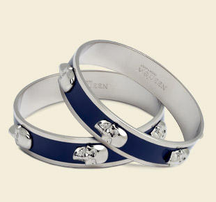 Up to 38% OffAlexander McQueen Bangles & Cuffs on Sale @ Belle and Clive