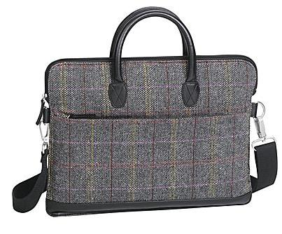 $8.75 Paperchase Tweed Laptop Bag 516512-US