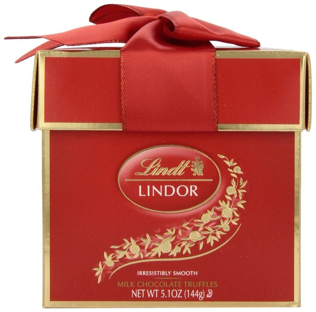 $2.84 Lindt Lindor Truffles, Token Gift Box, 5.1 Ounce Package