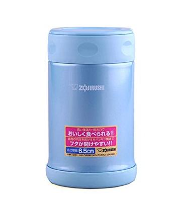 on Zojirushi SW-EAE50AB Stainless Steel Food Jar, 17-Ounce/0.5-Liter, Aqua Blue