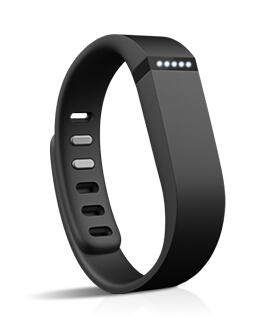 Fitbit® Flex (TM) Wristband Black Wireless Activity and Sleep Tracker