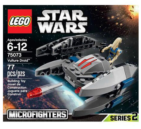$7.99 LEGO Star Wars Microfighter Sets