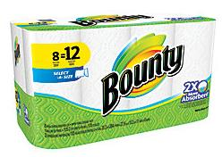 $46.93 48-Count Bounty Select-A-Size Giant Roll Paper Towels
