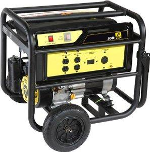 $179.13 Job Pro+ GJPP4000W 7HP OHC Gas Powered Portable Generator with Wheel Kit, 4000-Watt