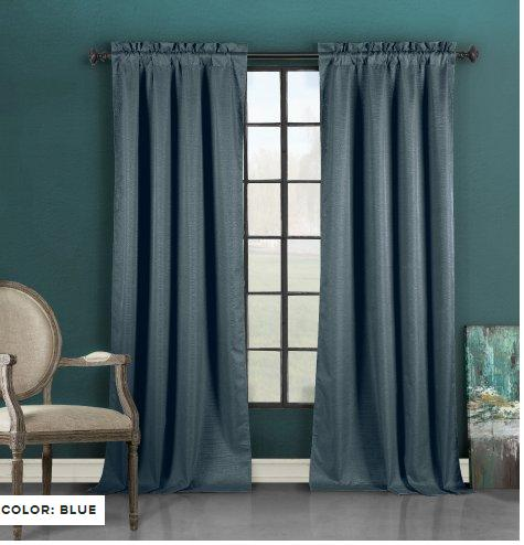 Blackout Energy-Saving Window Panel Curtain