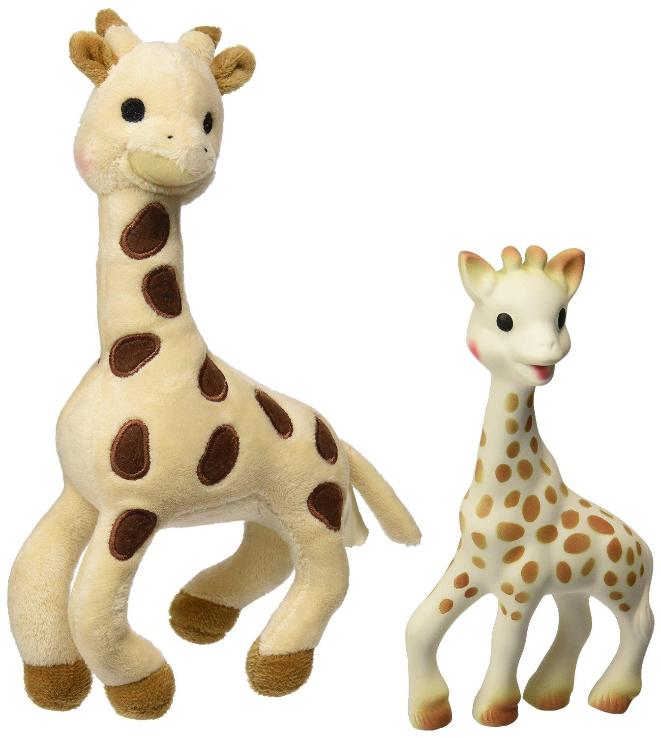 $24.99 Vulli Sophie Giraffe Set (Soft Toy and Natural Rubber)