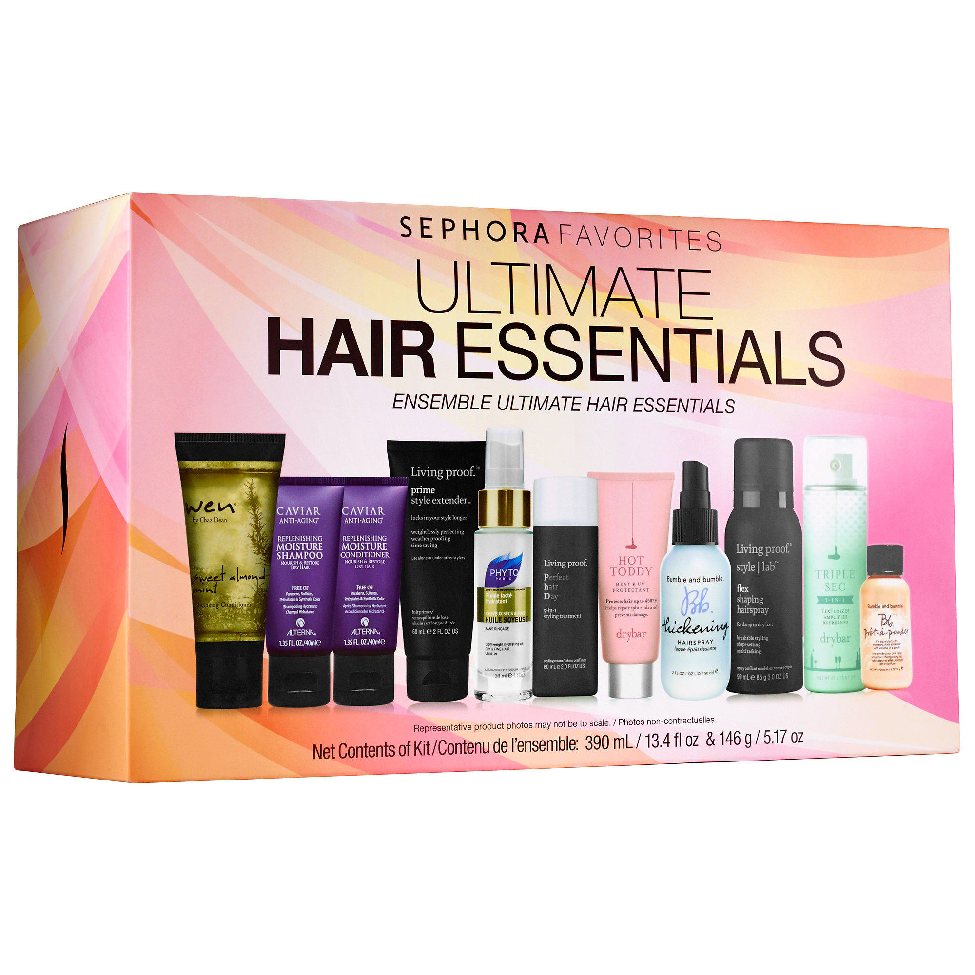 Sephora launched New Sephora Favorites Ultimate Hair Essentials Set