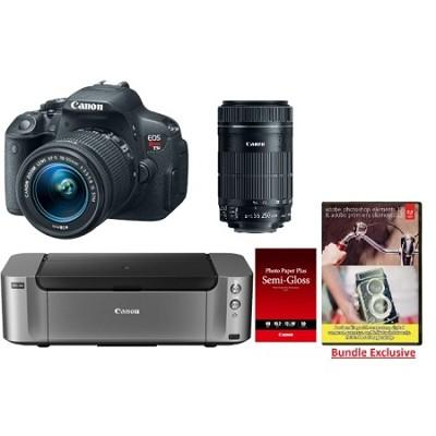 $749 Canon EOS Rebel T5i Bundle @ BuyDig.com