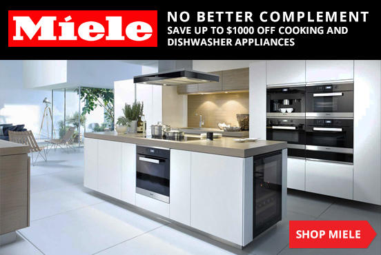 Up to $1000 OffMiele Cooking & Dishwasher Appliances @ AJ Madison