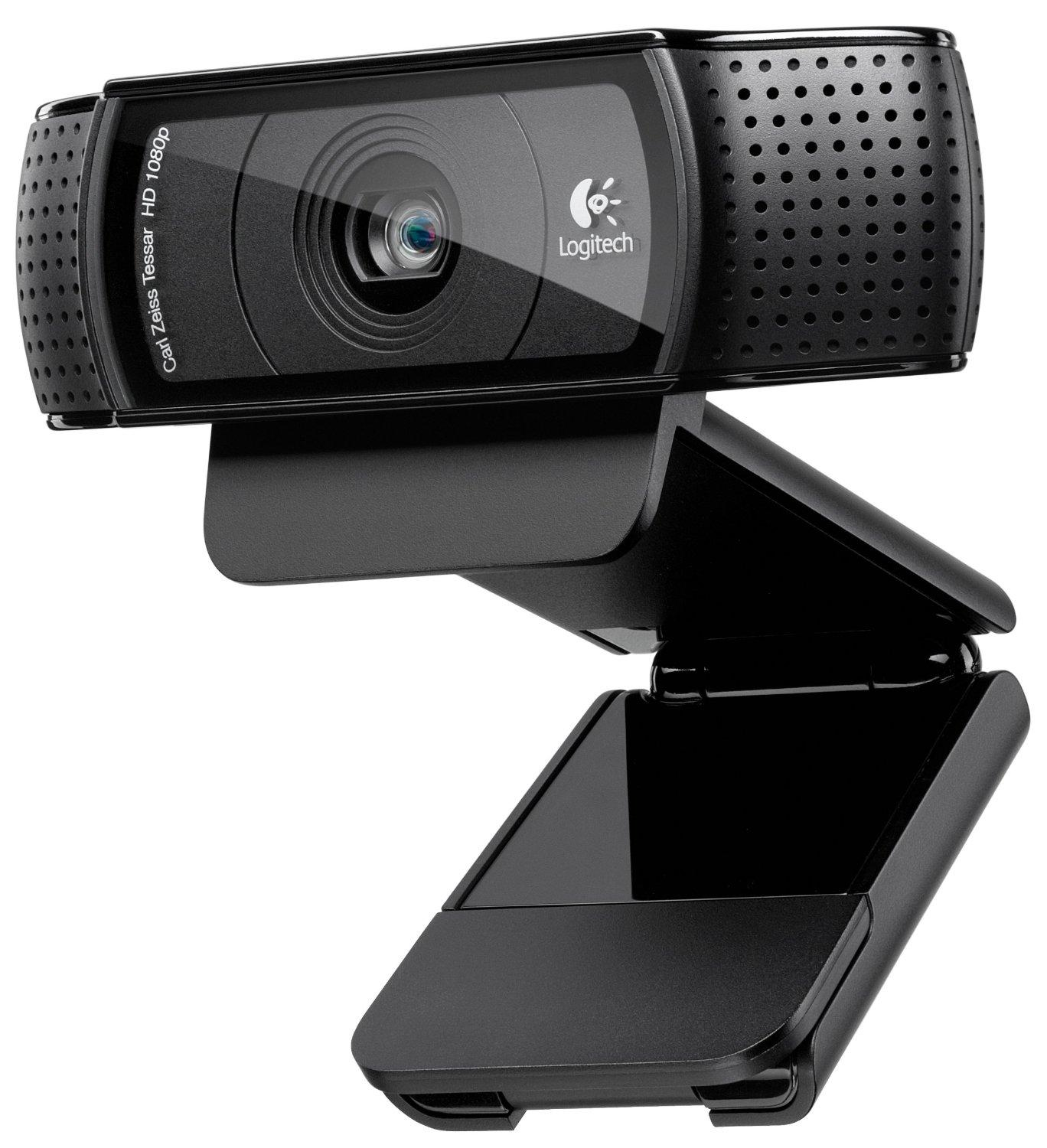 $39.99 Logitech HD Pro Webcam C920, 1080p Widescreen Video Calling and Recording