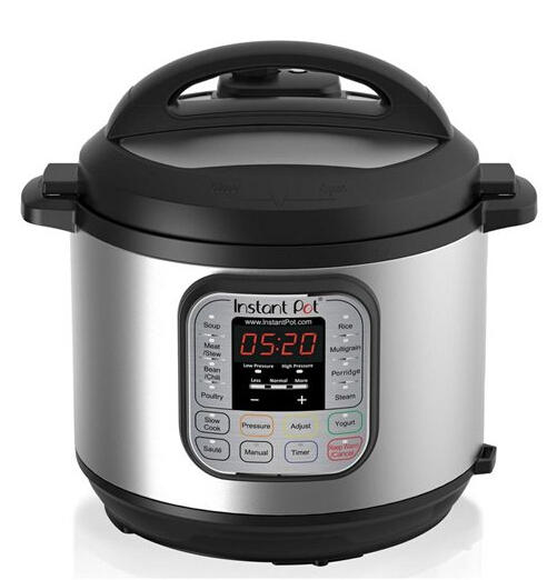 $78.5 Instant Pot IP-DUO60-ENW 7-in-1 Programmable Technology Pressure Cooker, 6-Quart