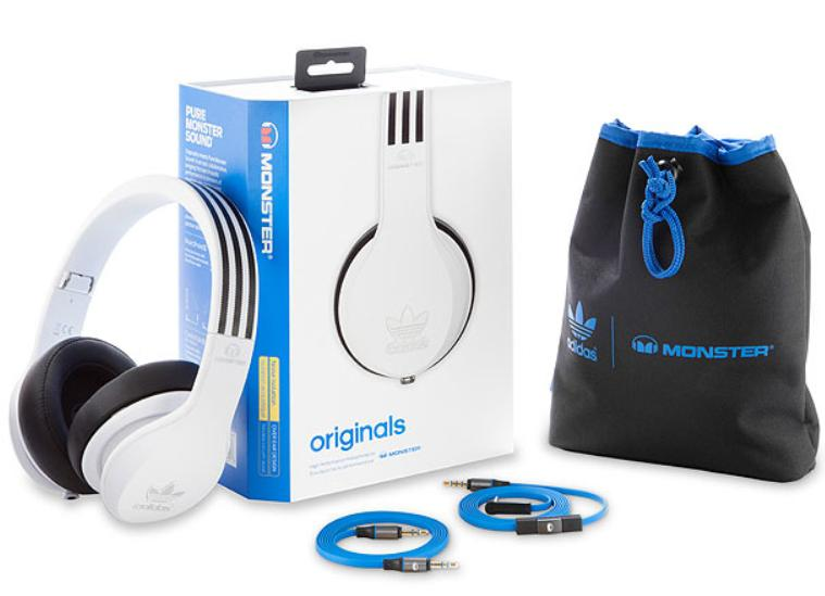 Dealmoon Exclusive! adidas Originals by Monster® Noise Isolating Over-Ear Headphones