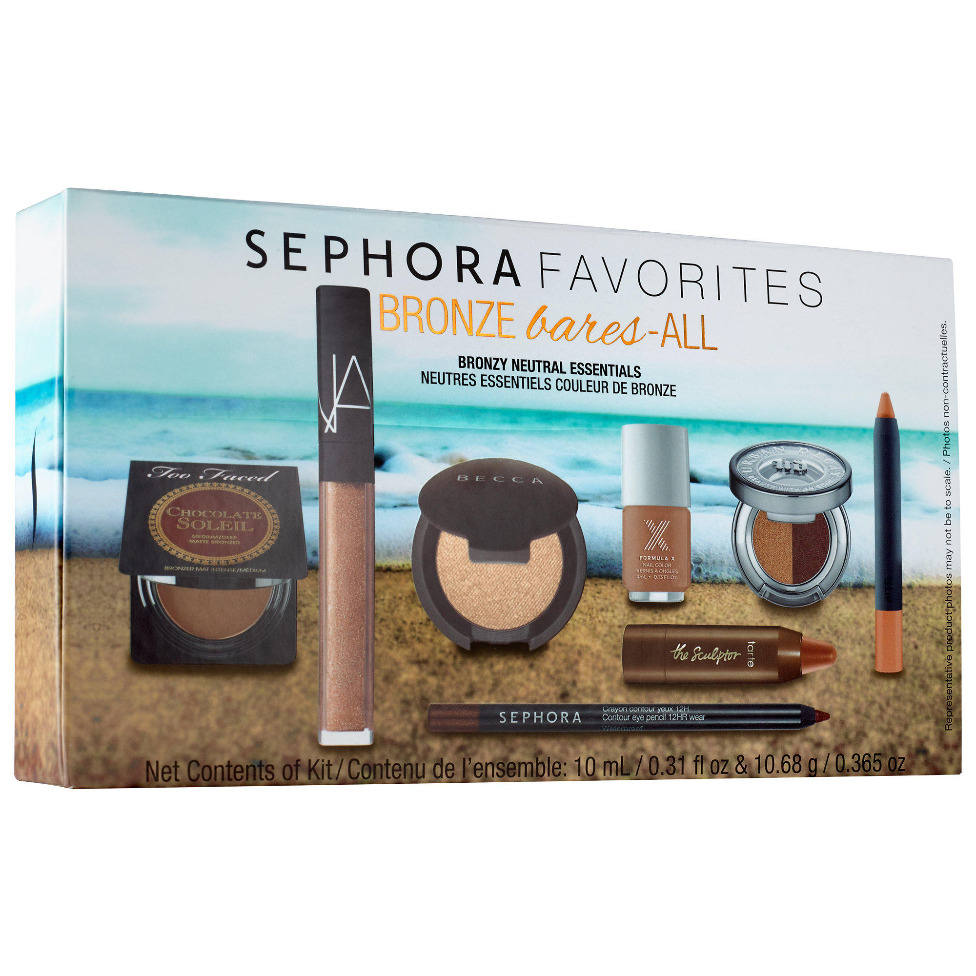 Sephora launched New Sephora Favorite Bronze Bares All Set