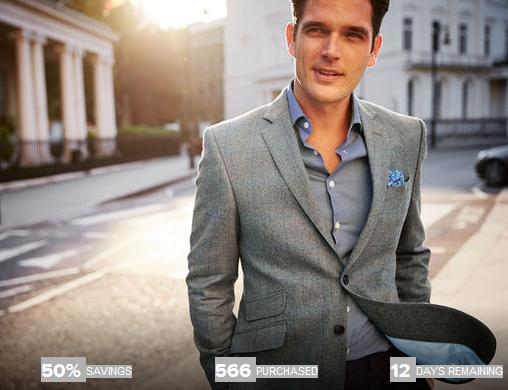 $25for $50 Charles Tyrwhitt Menswear and Accessories
