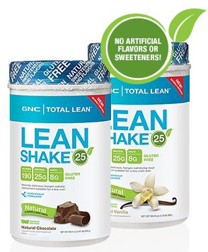 Buy 1 Get 1 50% Off GNC Total Lean™ Lean Shake™ 25 Natural Vanilla