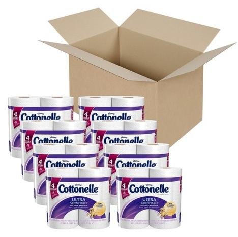 $12.79 Cottonelle Ultra Comfort Care Double Roll Toilet Paper 32 Rolls