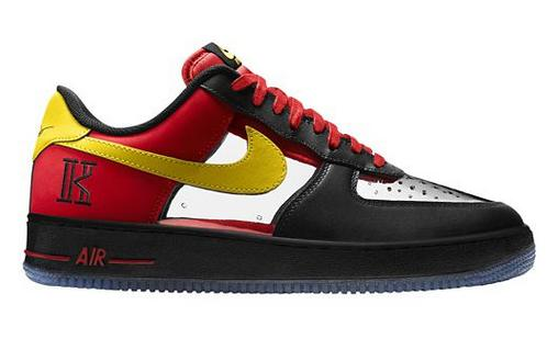 Nike Men's Air Force 1 CMFT Kyrie Irving Signature QS Shoes