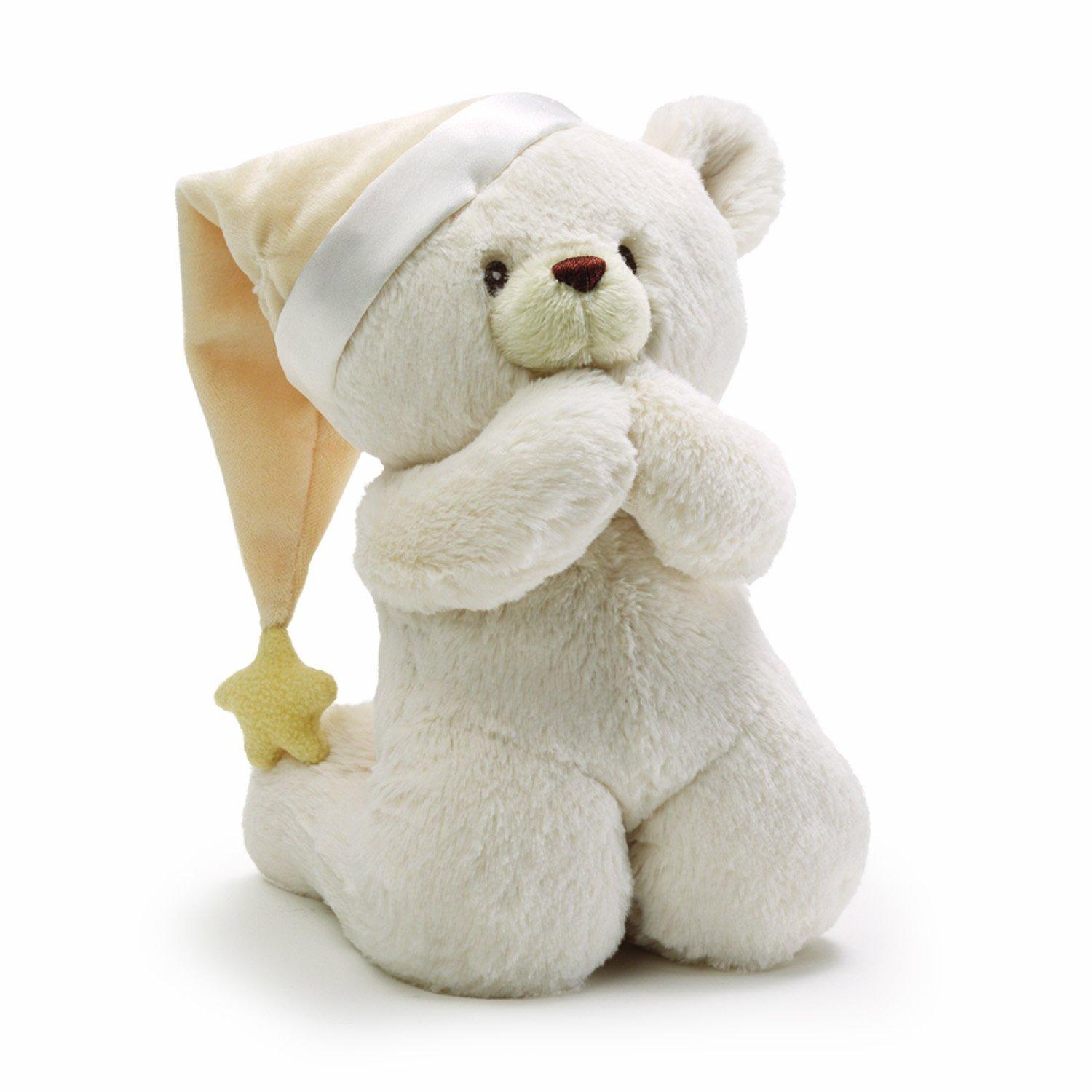Gund Prayer Teddy Bear Stuffed Animal Sound Toy