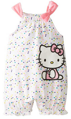 Up to 70% Off Select Hello Kitty Baby Girls' Apparel @ Amazon.com