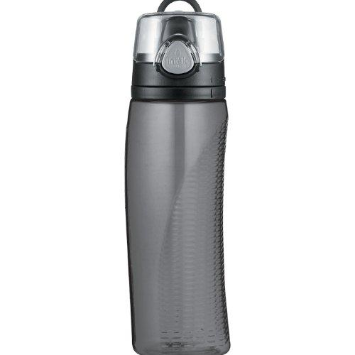 $9.99 Thermos Intak Hydration Bottle with Meter, Smoke