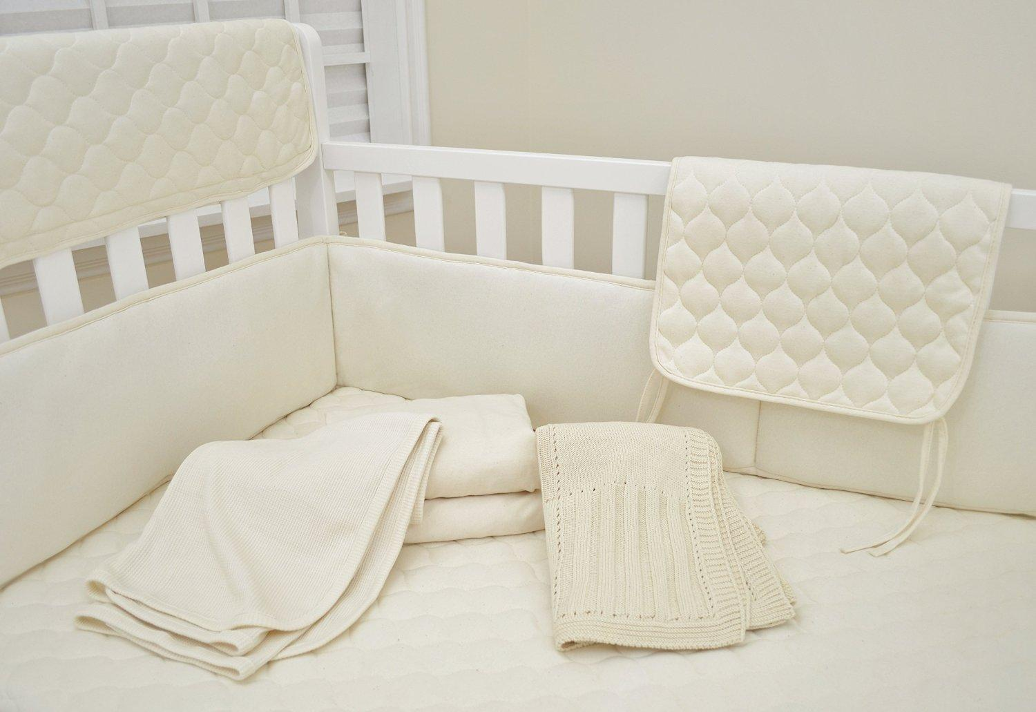 American Baby Company Organic Cotton Sweater Knit Blanket
