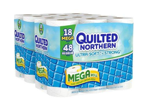 $16.24 Quilted Northern Ultra Soft and Strong Bath Tissue, 36 Mega Rolls