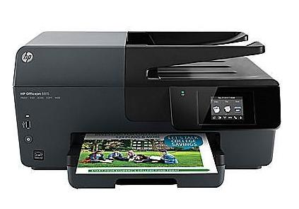HP Officejet 6815 e-All-in-One Color Printer with Ink