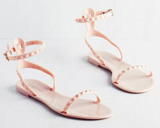 Crux of Luxe Sandal in Blush