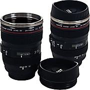 $11.99 Set of 2 Camera Lens Coffee Mugs with Lid