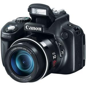 $269 Canon PowerShot SX50 HS Digital Camera, Black