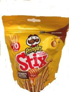 $10.49 Pringles Stix Cracker Sticks, Crispy, Honey Butter, 2.86, (Pack of 3)