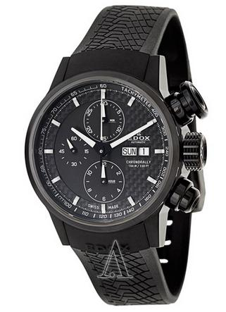 $858 Edox Men's Chronorally Automatic Watch 01116-37NPN-GIN (Dealmoon exclusive)