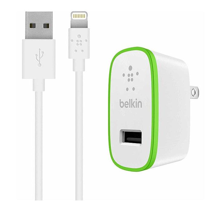 Belkin BOOST UP™ Charger with ChargeSync Cable for iPad and iPhone 5