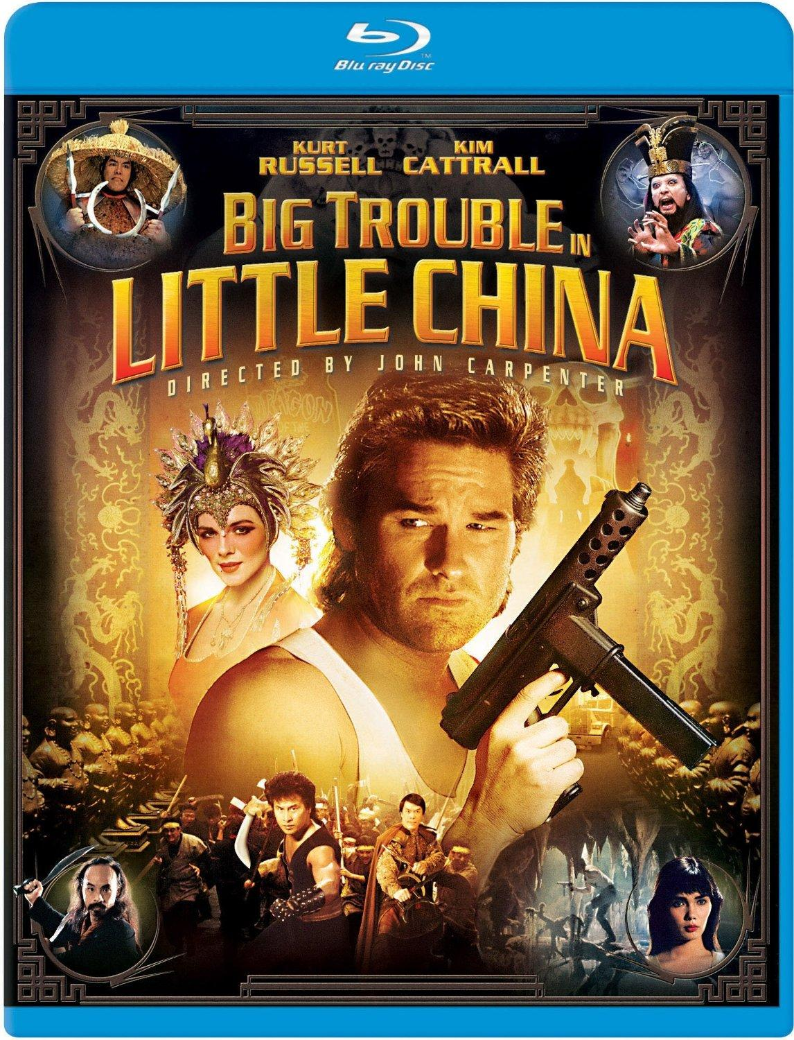 $4.99 Big Trouble in Little China [Blu-ray]