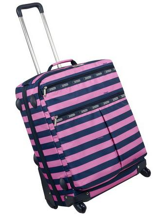 $45.18 LeSportsac 24 Inch 4 Wheel Luggage Carry On