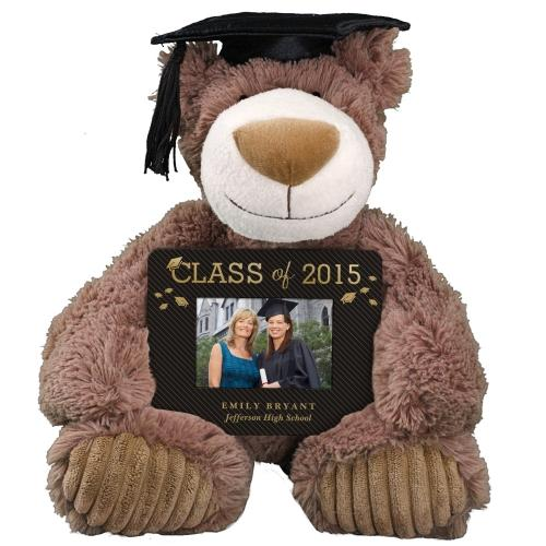 Personalized Graduation Bear and Frame Set