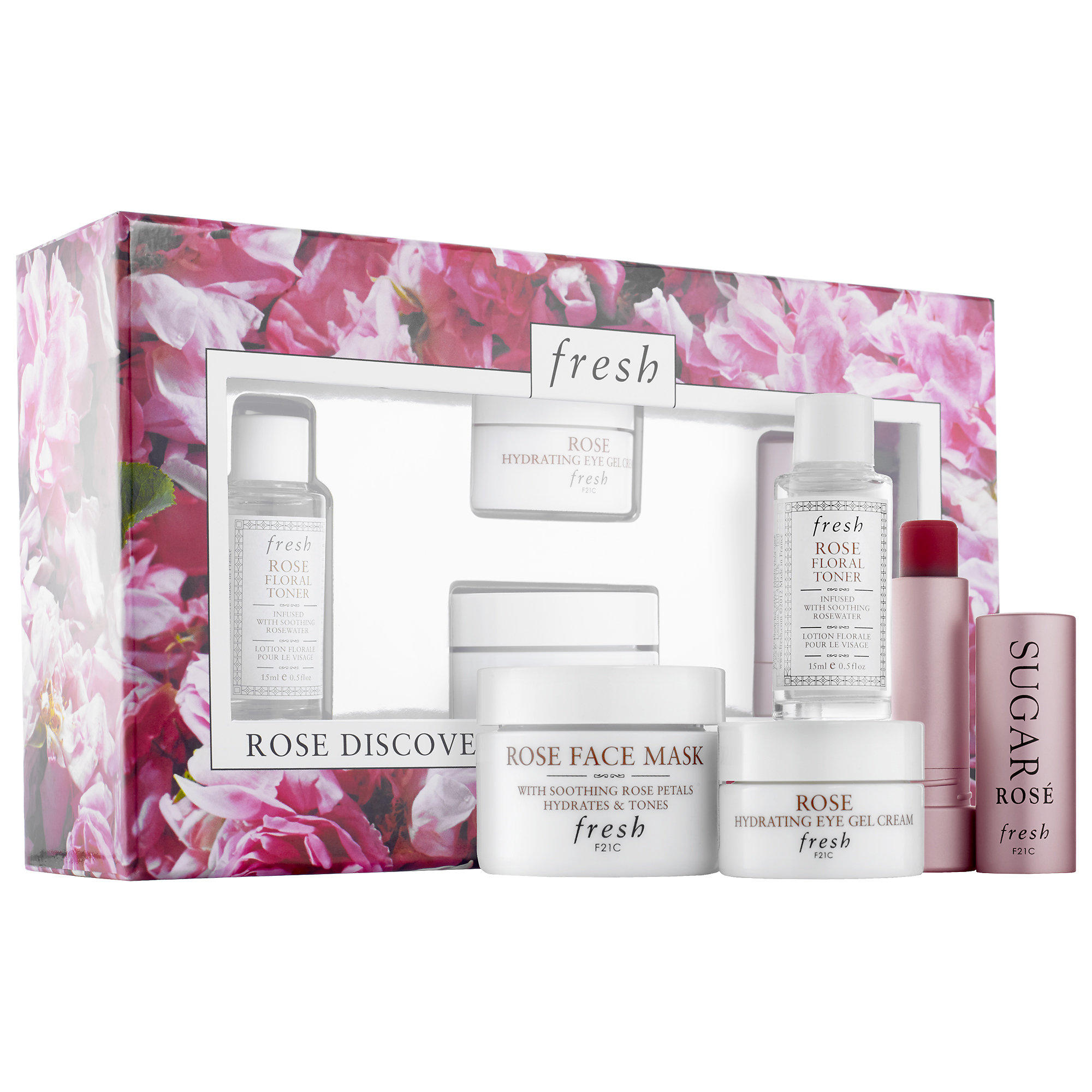 Fresh launched New Rose Discovery Kit