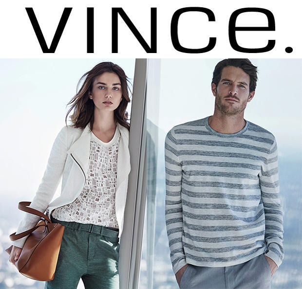 Up to 60% Off Men's Clothing Sale @ Vince.