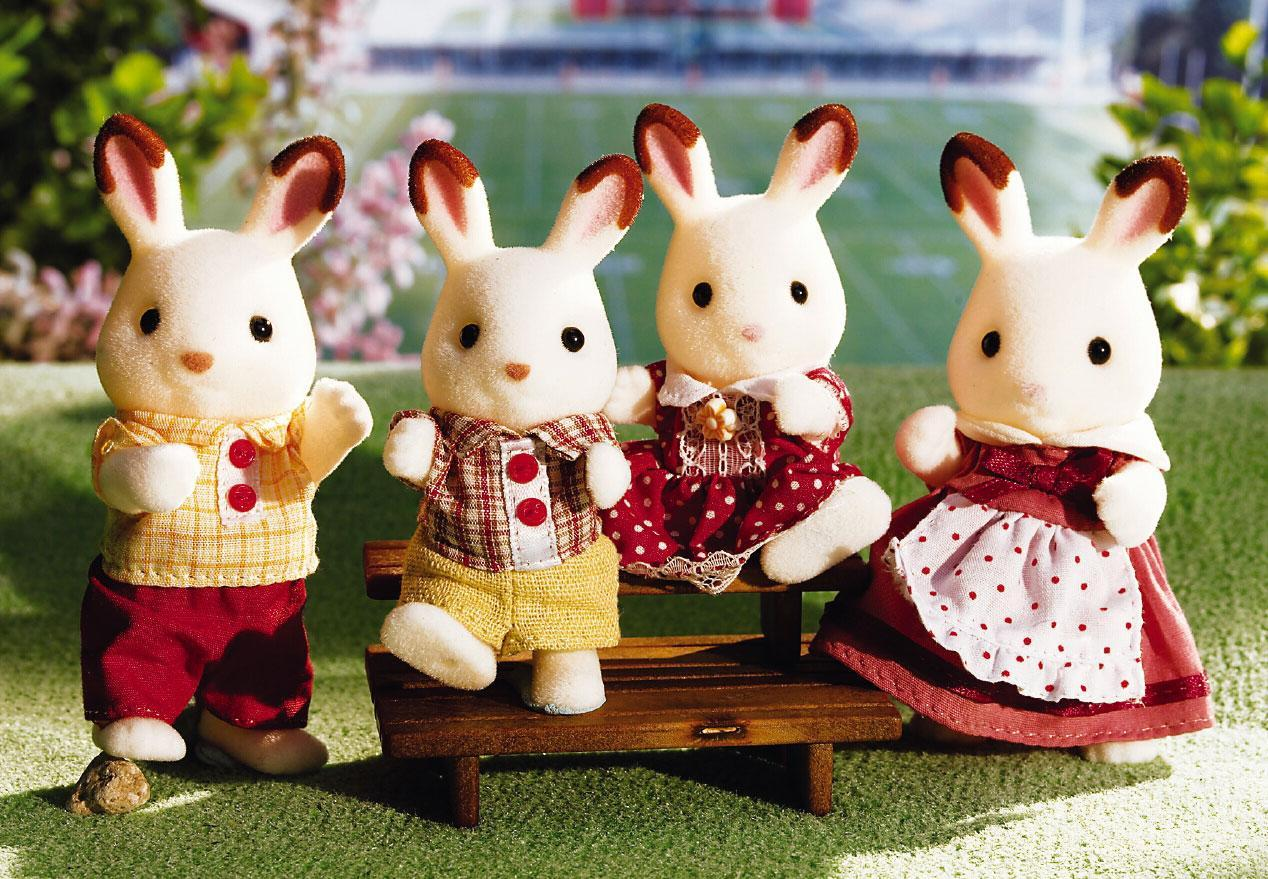 $22.28 Calico Critters Hopscotch Rabbit Family