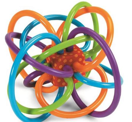 $11.99 Manhattan Toy Winkel Rattle and Sensory Teether Activity Toy